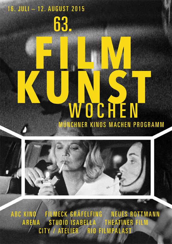 63. Filmkunstwochen München - Plakat