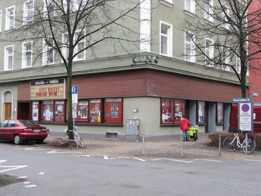 Das Studio Isabella gehörte einst Münchens Filmpionier Fritz Falter – 1980 übernahm es Louis Anschütz (Foto: Europa … <a href=